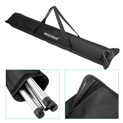 """Neewer 42.5"""" Tripod Speaker Stand Carrying Bag with Two Straps"""