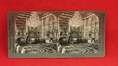 Vintage Keystone Stereoview Card - Royal Palace of Cathrine de Medicis