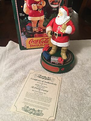 Ertl Coca-Cola Santa Claus Coin Bank Extremely Nice Never Used Diecast Metal