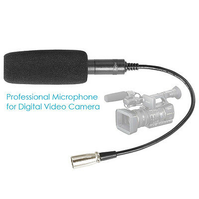 Neewer Professional 3 Pin Microphone For Camera/camcorder Sg-103