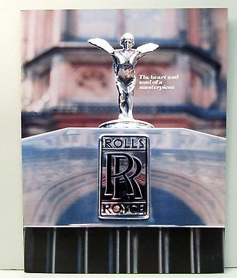 1978 ROLLS ROYCE SHADOW WRAITH CORNICHE sales brochure catalog