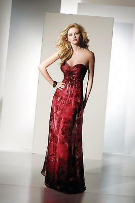 Alyce B'Dazzle 35428 prom/formal gown/dress. Size 22. Red. Retail $332