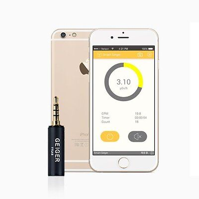 Geiger Counter Nuclear Radiation Dosimeter X-Ray and Gamma Detector Android IOS