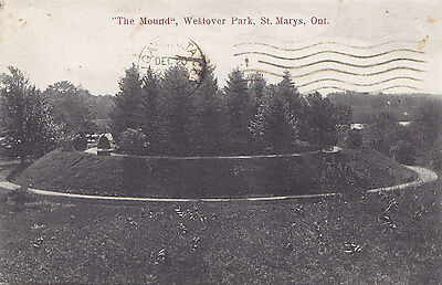 The Mound Westover Park ST. MARYS Ontario Canada Private Postcard