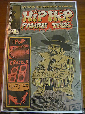 Hip Hop Family Tree 1 5 6 NM First Prints Rap Ice T Public Enemy Wild Style