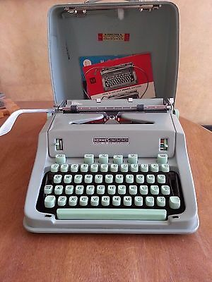 1964 Hermes 3000 Typewriter -  Mint Condition