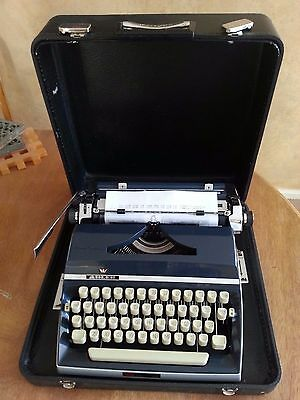 Adler J5 Typewriter Just overhauled Mint Condition