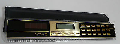 EATON Desk Top Combination Calculator & Ruler & Conversion Table Storage Sleeve