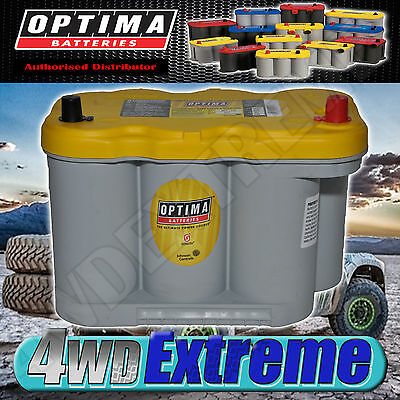 Optima Yellow Top D27F Battery 12 Volt Agm 830Cca Deep Cycle Suit N70Zzl