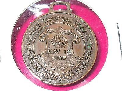 1937 George Vi And Queen Elizabeth 12 May Coronation Medal