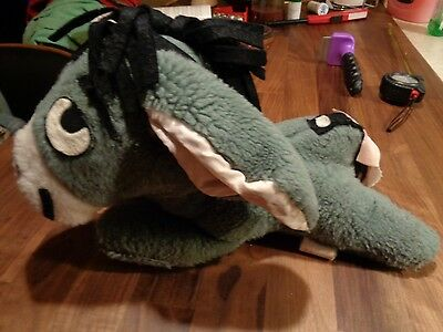 Vintage '60s Sears Winnie the Pooh Eeyore 13 1/2  in. Plush Doll Great Condition