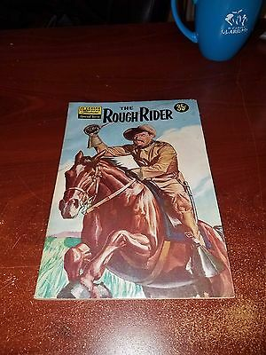 Classics Illustrated Special Issue #141A - The Rough Rider (Teddy Roosevelt)