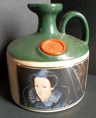 Mary Queen of Scots Glenfiddich Scotch Whiskey bottle and box