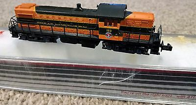 Kato N-scale RS-1 locomotive as new Great Northern