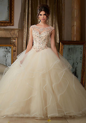 Custom New Formal Party Quinceanera Dresses Pageant Prom Ball Gown Wedding Dress