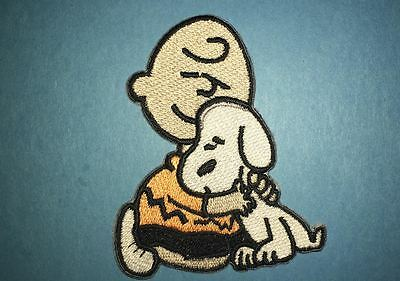 Snoopy Charlie Brown Peanuts Iron On Embroidered Hat Jacket Hoodie Patch Crest