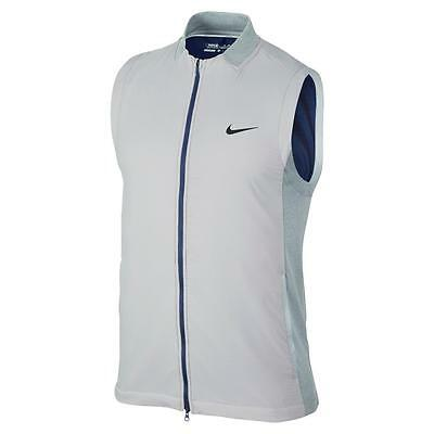New $170 Nike Golf Aerolayer Vest Mens Wolf Grey/black 726261-012 Small Rory Tw