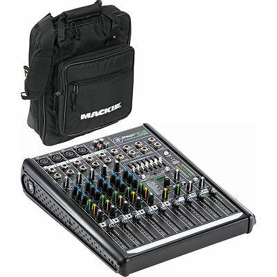 Mackie ProFX8v2 - 8-Channel Professional Effects Mixer (with PADDED TRAVEL BAG!)