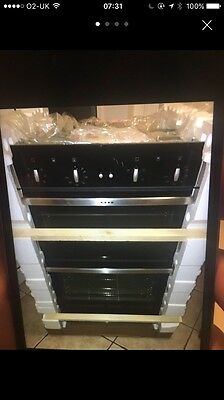 Brand New Neff Double Built In Oven U14m42n5gb