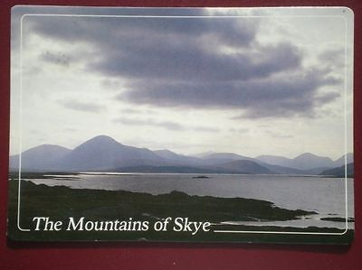 Postcard Islands The Mountains Of Skye From Broadford Bay In The Summer
