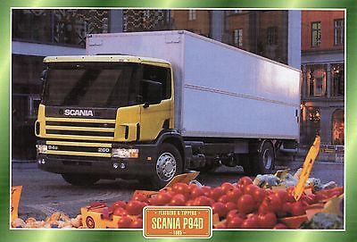 Scania P94D             Glossy   Picture (T196)
