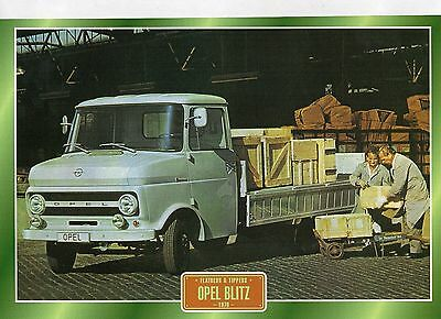 Opel Blitz               Glossy   Picture (T202)