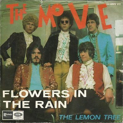 "45, 7"" - The Move - Flowers In The Rain - UK Psych, Mod, Spanish Issue, Hear!"