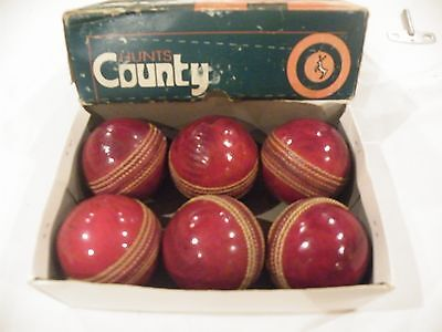 6 Good quality used cricket balls