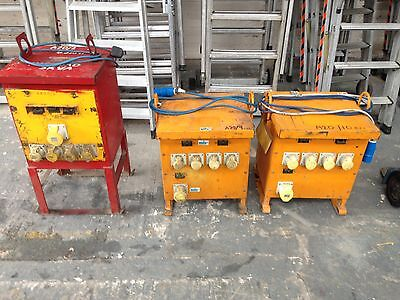 5 Kva Site Transformers, 240 Volts To 110 Volts, Choice Of 3 @ £120 Each O.n.o