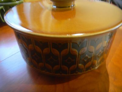 HORNSEA Pottery - Heirloom Brown - Tureen with Lid by John Clappison - 1970's