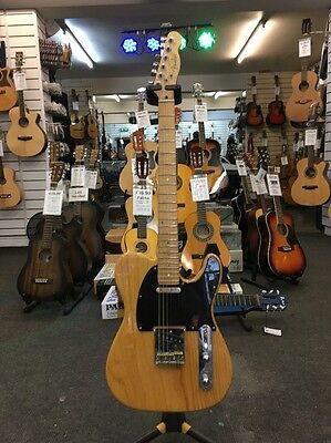 Fender MIK Ash Telecaster Electric Guitar 6-String Right-Handed Made In Korea