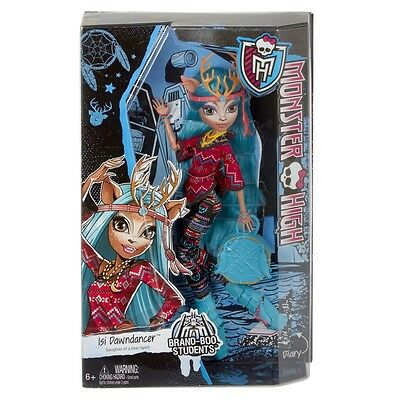 Monster High Brand Boo Students Isi Dawndancer Doll Brand New Cjc61