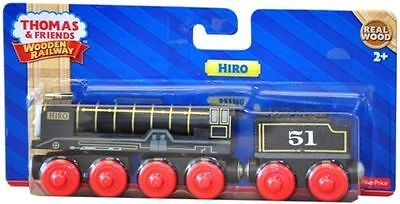 Fisher Price Thomas & Friends Wooden Railway Hiro Train Brand New In Box Y4381