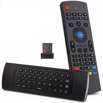 Mini  2.4G Remote Control Air Mouse Wireless Keyboard For XBMC Android PC TV Box