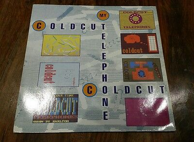 """COLDCUT My Telephone 12"""" UK 1989 Ahead Of Our Time CCUT6T  Steinski"""