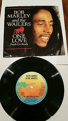 BOB MARLEY & THE WAILERS One Love/People Get Ready UK 7""