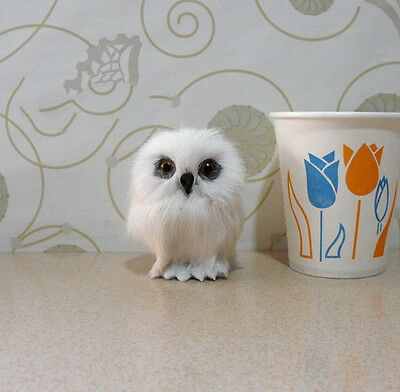 Wizarding World Of Harry Potter Snowy Owl Hedwig Realistic Owl Toy Kids Gift