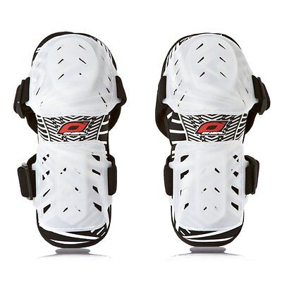 New Oneal Pro Iii Elbow Guards White Motocross Enduro Mx Mtb Downhill Bmx Atv