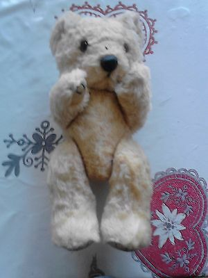 Ancienne Peluche Ours Rare