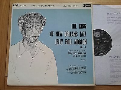 JELLY ROLL MORTON King Of New Orleans Jazz Vol 2  LP
