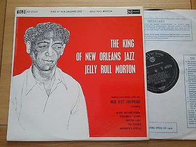 JELLY ROLL MORTON King Of New Orleans Jazz  LP