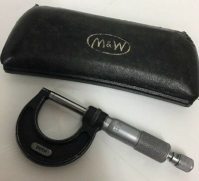 MOORE & WRIGHT 0-25mm MICROMETER No 965MF