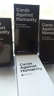 Cards Against Humanity: 550 cards UK edition  Original Game, Brand new & SEALED