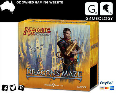 Magic the Gathering - Dragon's Maze - Fat Pack