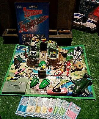 thunderbirds toy collection