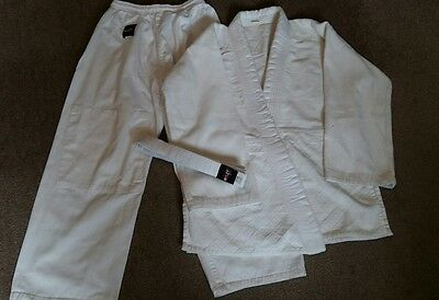 White Size 3 160Cm Martial Arts Judo Jujitsu Outfit Suit