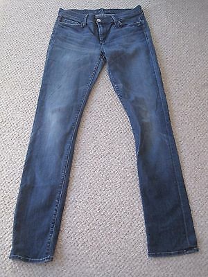 7 FOR ALL MANKIND high waisted joyce STRETCH JEANS SIZE 30