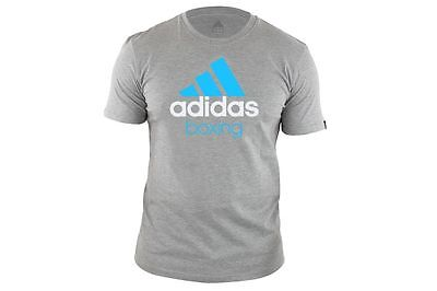 Adidas Boxing T-Shirt Top Grey Training Top Gym Men's S, M, L ,XL