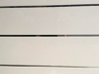 20 x Twin Chrome Bathroom Shower Kitchen Ceiling Wall Panels UPVC