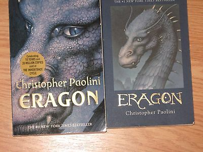 Lot of 2: Eragon by Christopher Paolini Paperback Books